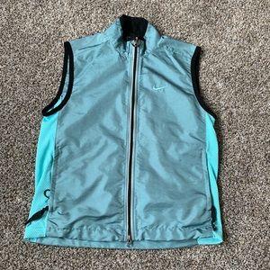 Awesome Nike Dual Zipper Sleeveless Running Jacket